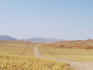 Solitaire, het begin van de Namib